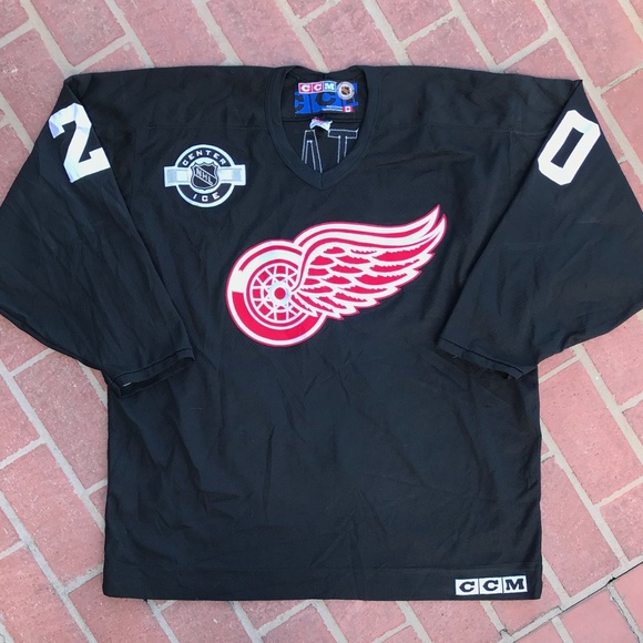 CCM Other - VINTAGE DETROIT RED WINGS CCM LUC ROBITAILLE c7c6ed19f